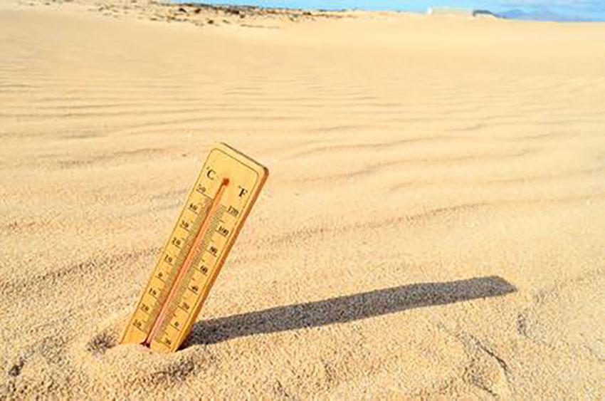 temperatura desierto